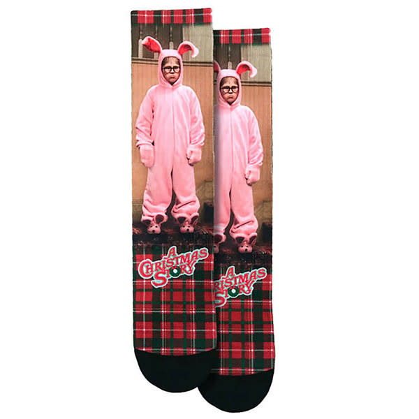 A Christmas Story Ralphie in a Bunny Suit Socks