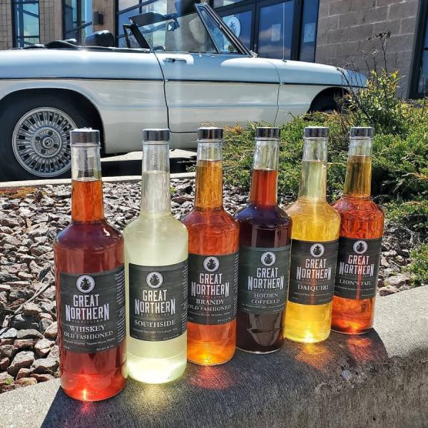 Bottles, car, outside, alchohol