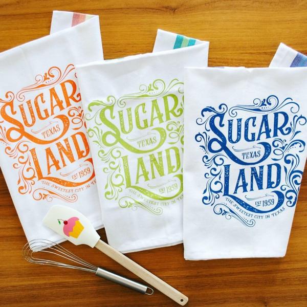 Sugar Land Tea Towels