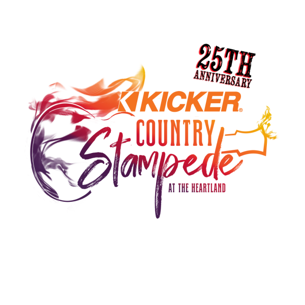 Kicker Country Stampede Logo 2021 | Topeka, KS