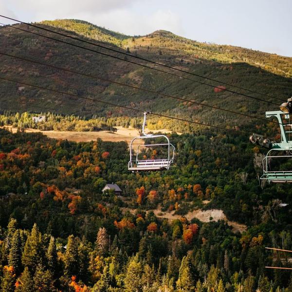 Sundance Mountain Resort Fall Lift Ride