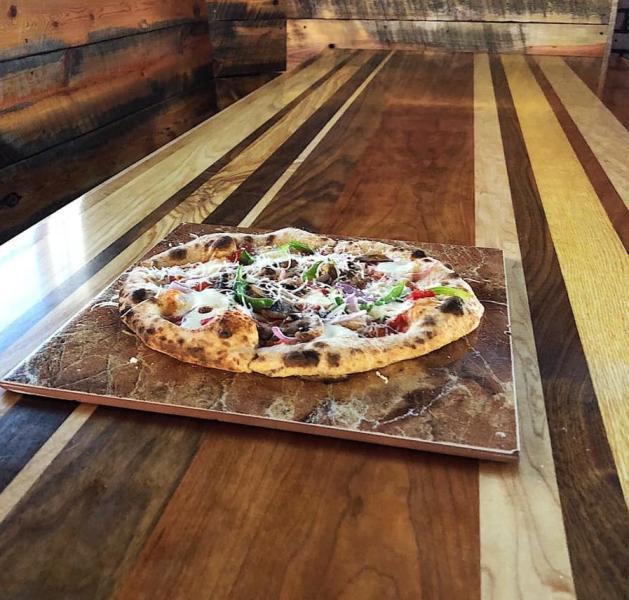 Veggie-Pizza at Alibi