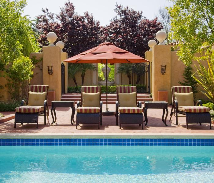 Casa Palmero Pebble Beach Pool