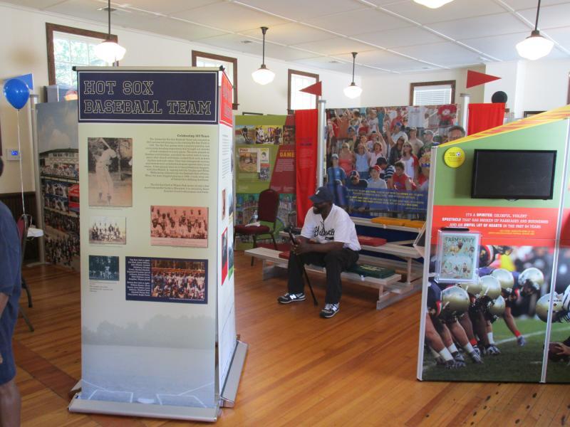 Galesville Hot Sox Exhibit