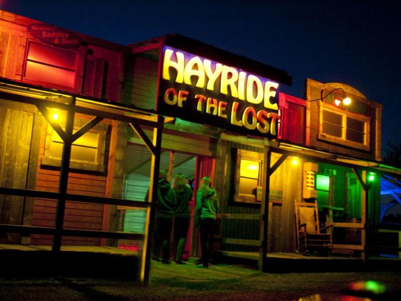 Night Terrors- Hayride of the Lost