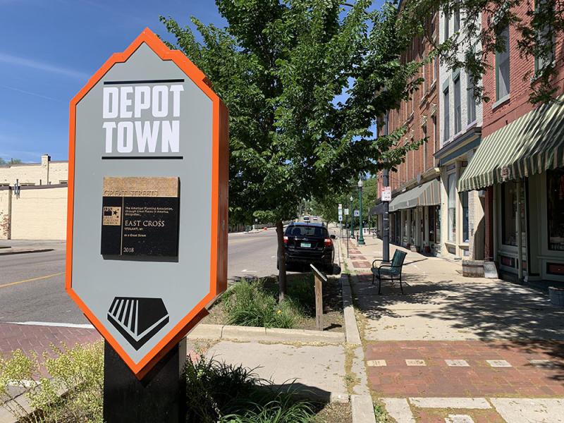 Depot Town in Ypsilanti