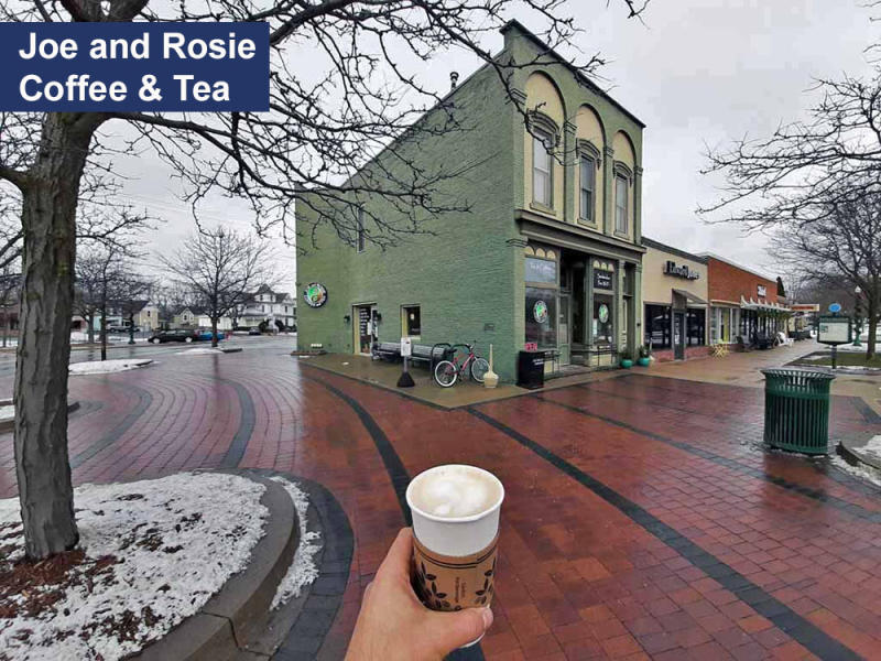 Joe and Rosie Coffee and Tea- Dexter, MI