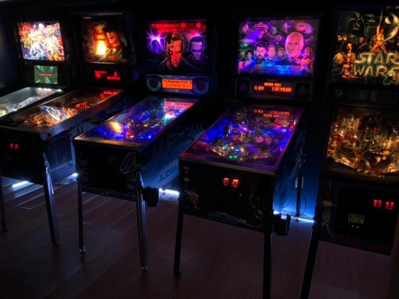 Arcade games at Orbit Room