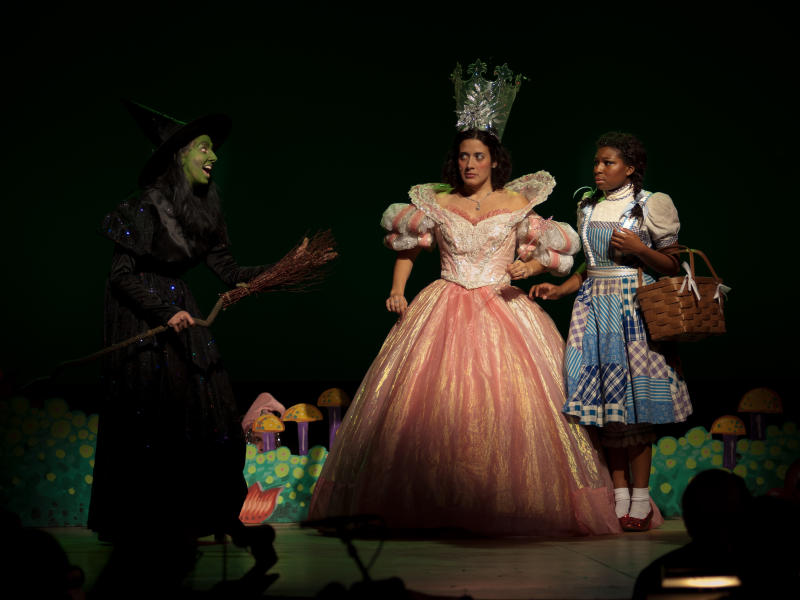 Performance of The Wizard of Oz by Cardinal Stage