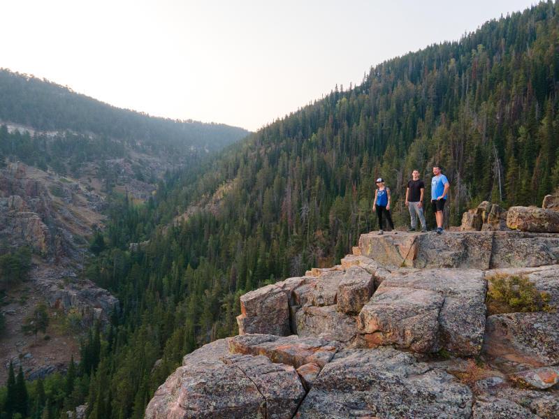 The Bridal Trail Casper Mountain