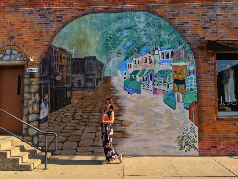 Literature - Downtown Mural