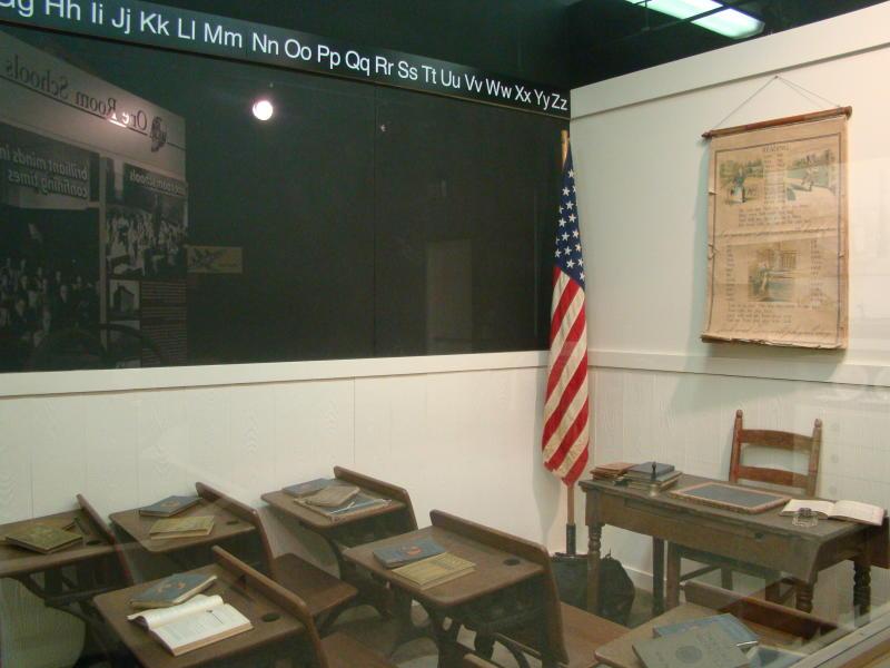 Wyandotte County Museum - One Room School House