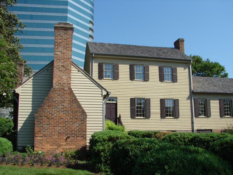 Blount Mansion was once the home of the prominent Knoxville politician William Blount.