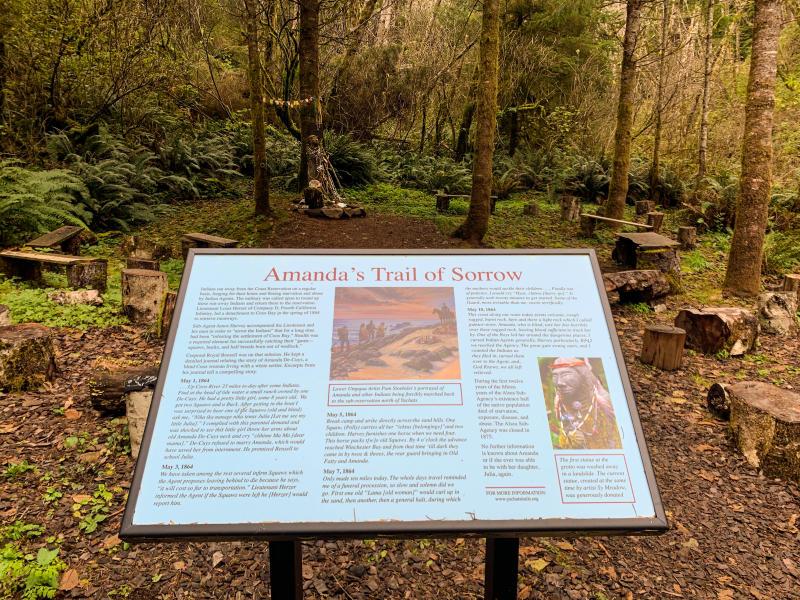 Amanda Trail on the Oregon Coast by Melanie Griffin