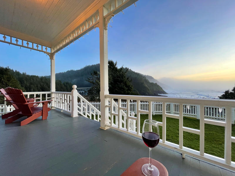 Heceta Head Lighthouse B&B by Melanie Griffin