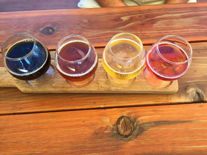 Alesong Beer Flight by Sally McAleer