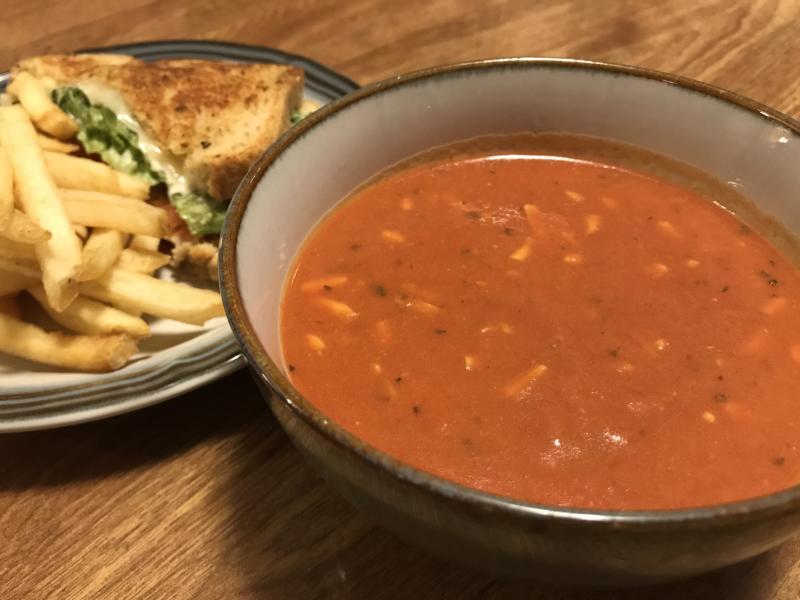 Glenwood's Tomato Cheese Soup by Taj Morgan