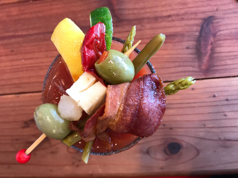 Gryff's Pub Loaded Bloody Mary by Taj Morgan