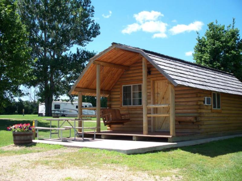 A cabin at KOA Minneapolis Northwest