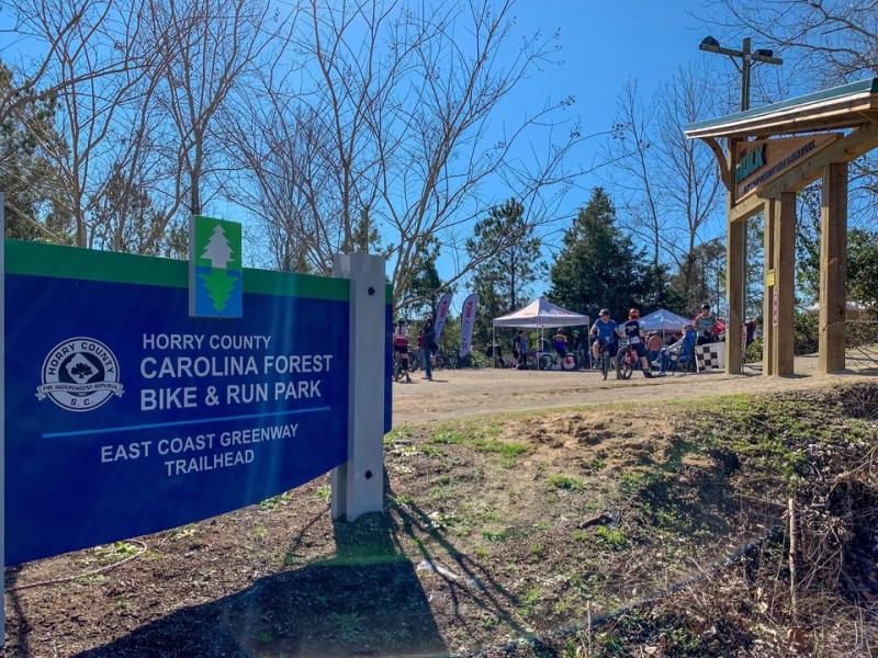 Horry County Bike & Run Park, Carolina Forest area of Myrtle Beach, SC