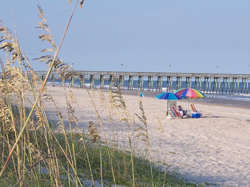 Myrtle Beach State Park with Sea Oats