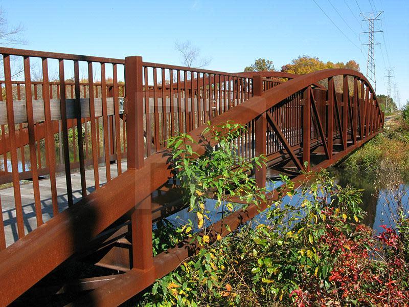 trolley line trail bridge