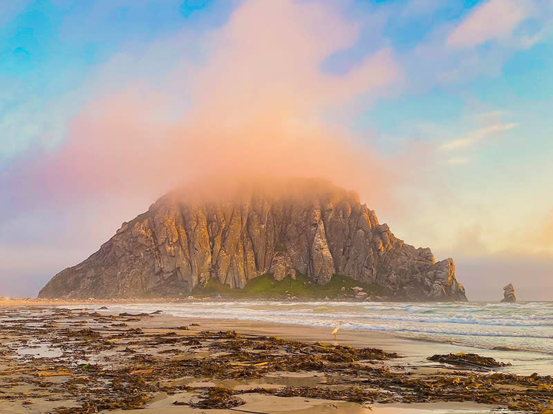 Morro Rock at Morro Bay State Park in SLO CAL