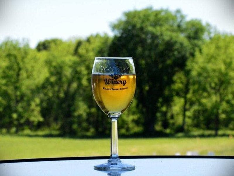 7C's Winery wine glass