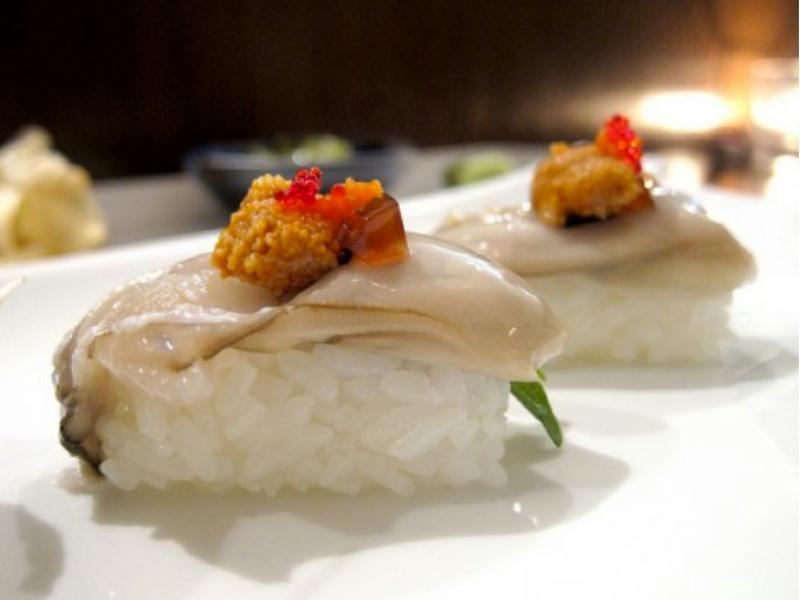 Sushi from Yuki Restaurant of Japan