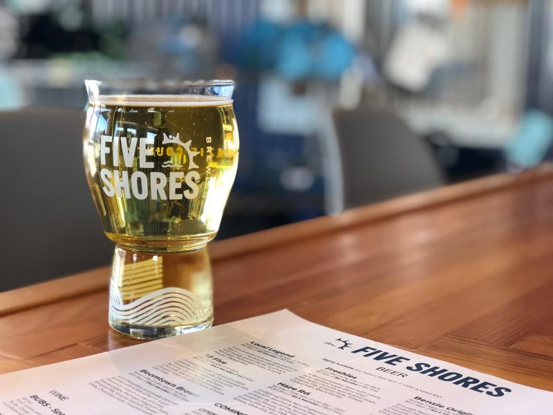 Five Shores Brewing Beer