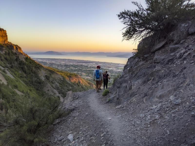 Battle Creek Falls Trail Utah Valley