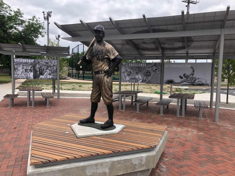 Jackie Robinson Pavilion at McAdams Park