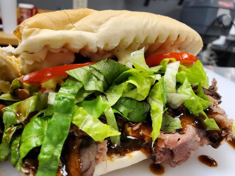 Sweet Allie B's Poboy Sandwich