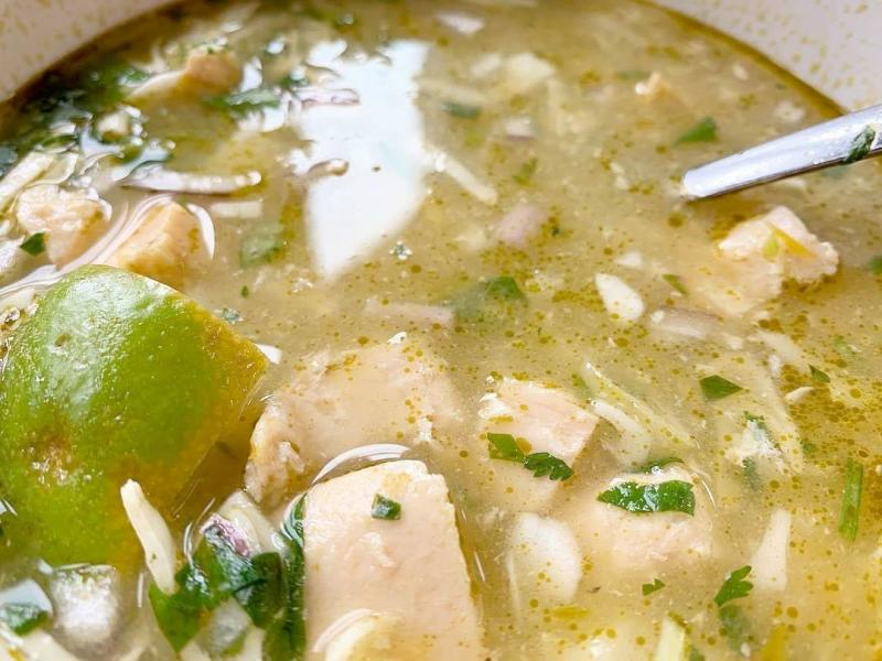 Pozole Verde Soup from The Anchor