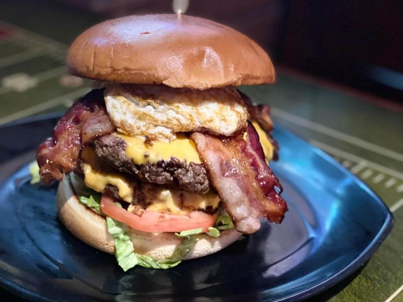 E.B Burger from Emerson Biggins