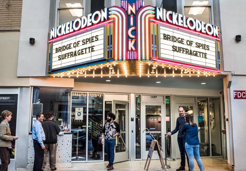 Nickelodeon Theatre on Main Street