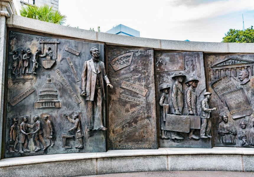 African American Monument at the SC State House