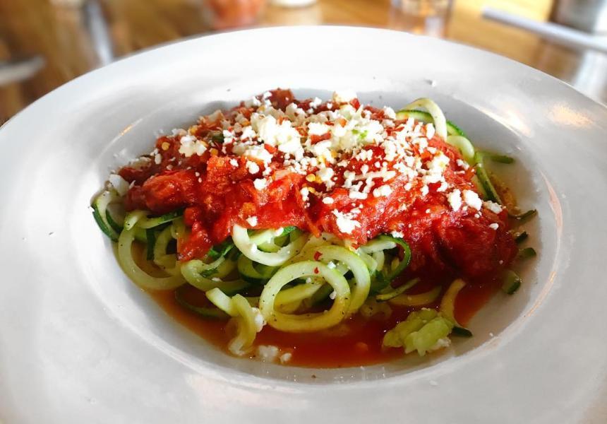 Za's Zucchini Noodles
