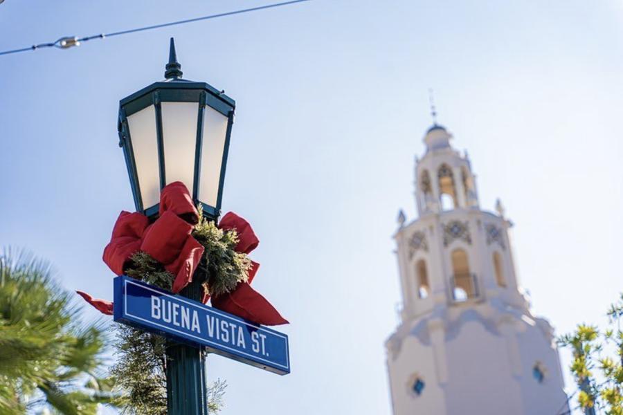 Holidays on Buena Vista Street at Disney California Adventure Park