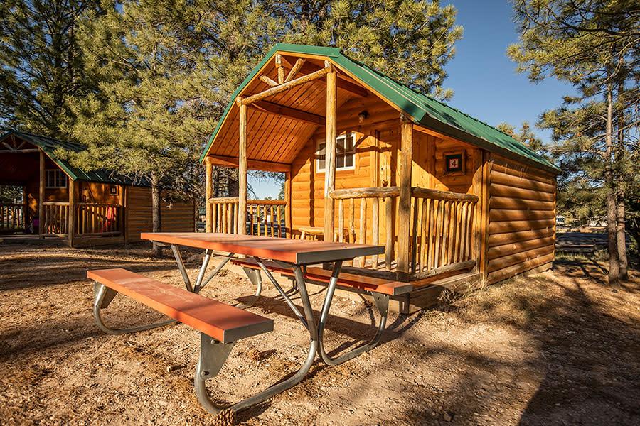 bryce cabins