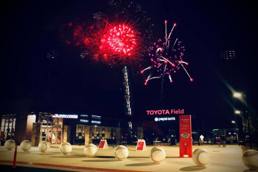 Fireworks Toyota Field