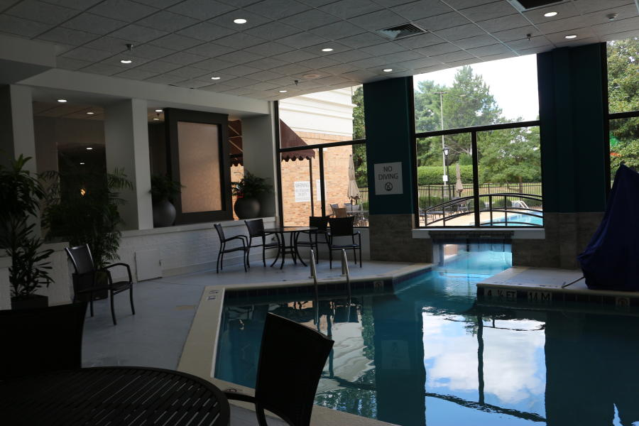 Holiday Inn Research Park Pool