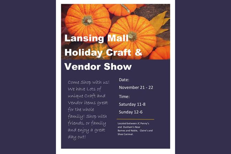Lansing Mall Holiday Craft and Vendor Show