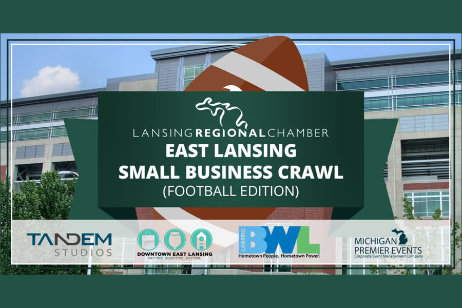 Lansing Regional Chamber of Commerce and East Lansing Small Business Crawl