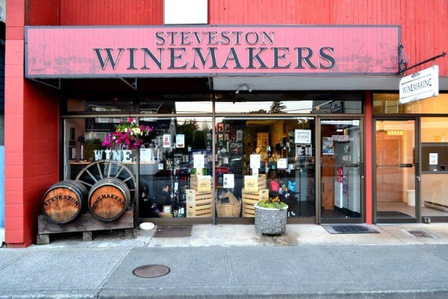 Steveston Winemakers Store Front