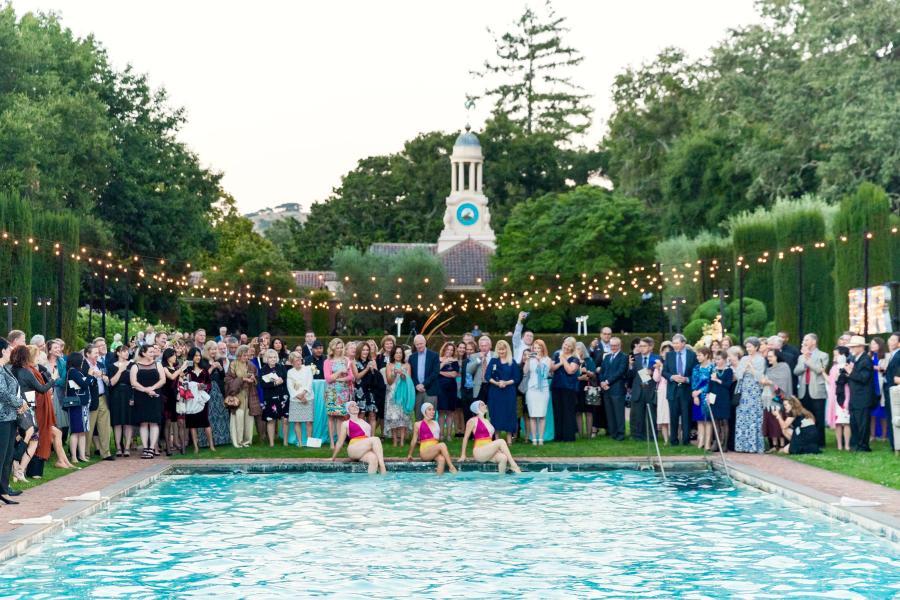 Centennial Gala Celebration - Pool - Photo Courtesy of Drew Altizer Photography - August 12, 2017
