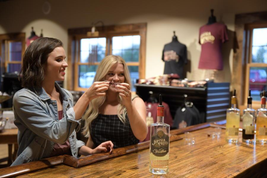 Girls Trip at Jeptha Creed for Bourbon Tasting