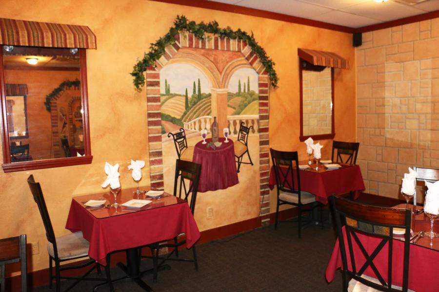 Dining Room at Bella Vita Bistro