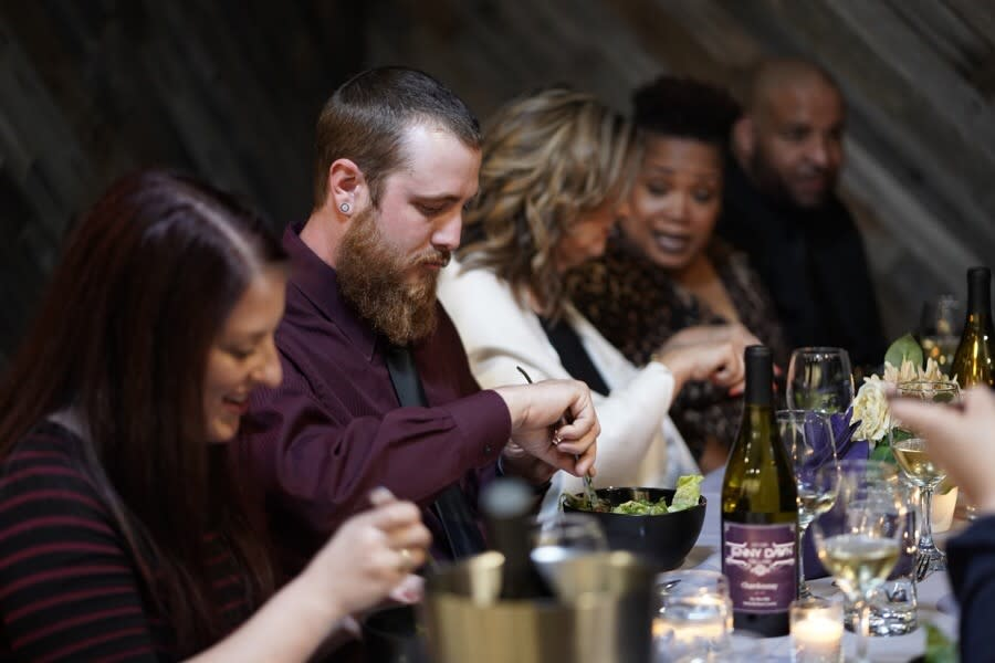 Wine Dinner Group at Jenny Dawn Cellars