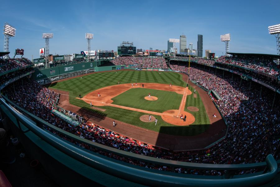 Fenway Park Stadium In Boston, MA